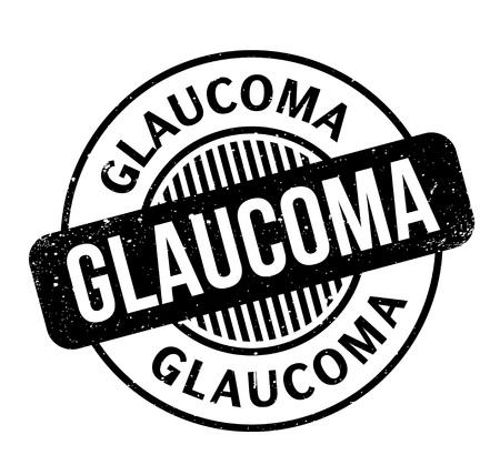 Glaucoma rubber stamp Zdjęcie Seryjne - 84821869