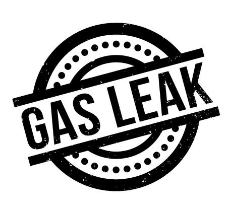 가스 누출 도장 일러스트