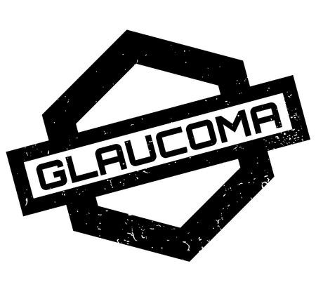 Glaucoma rubber stamp Zdjęcie Seryjne - 84821968