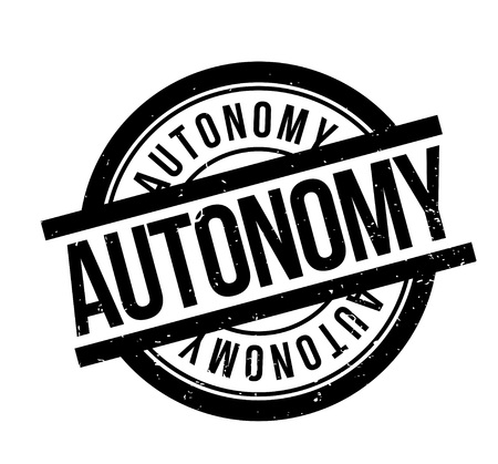 Autonomy rubber stamp