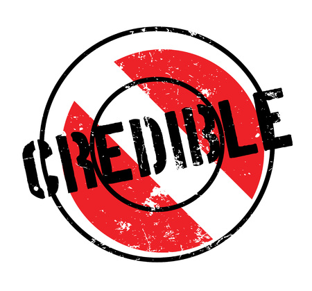 Credible rubber stamp