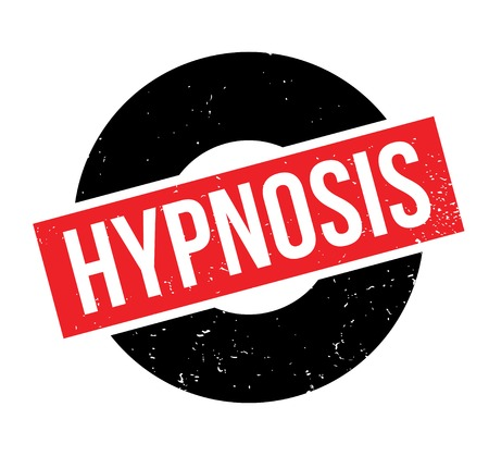 Hypnosis rubber stamp Illustration