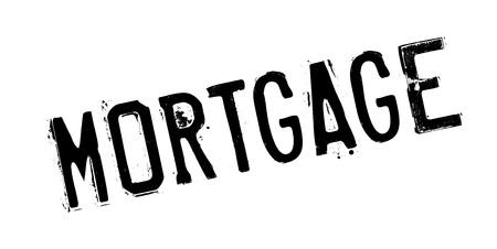 Mortgage rubber stamp Illustration