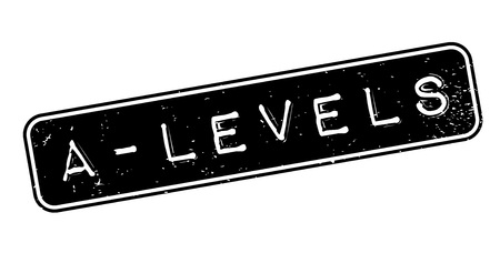Timbro di gomma A-Levels Vettoriali