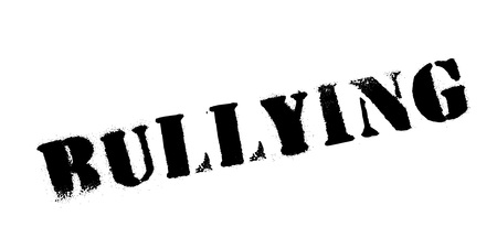 Bullying rubber stamp Stock Vector - 84899776