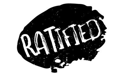 validation: Ratified rubber stamp. Grunge design with dust scratches. Effects can be easily removed for a clean, crisp look. Color is easily changed.