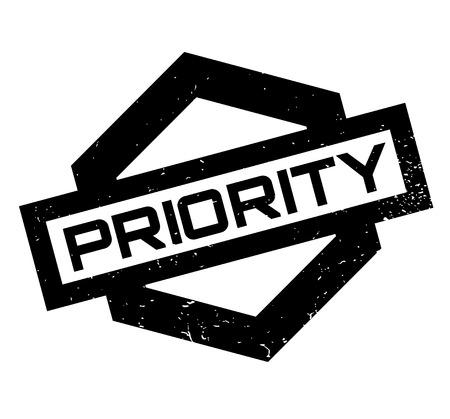 Priority rubber stamp Çizim