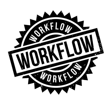 Workflow rubber stamp
