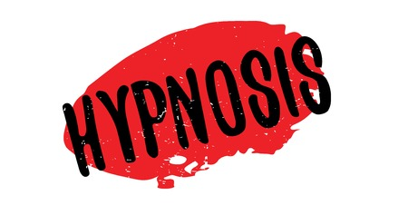 Hypnosis rubber stamp