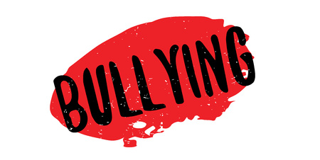 Bullying rubber stamp Stock Vector - 84900512