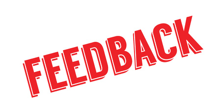 Feedback rubber stamp