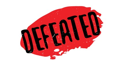Defeated rubber stamp