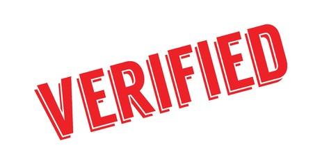 documented: Verified rubber stamp