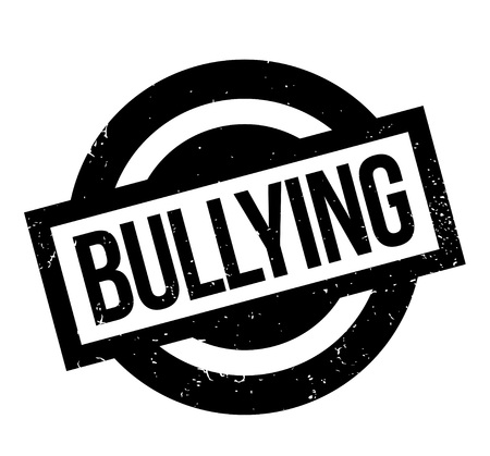 Bullying rubber stamp Stock Vector - 84900829