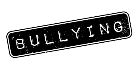 Bullying rubber stamp Illustration