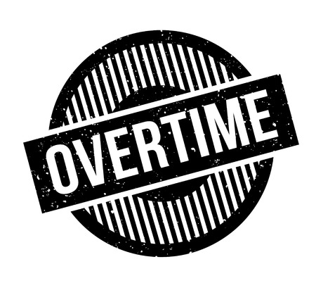 snowed: Overtime rubber stamp