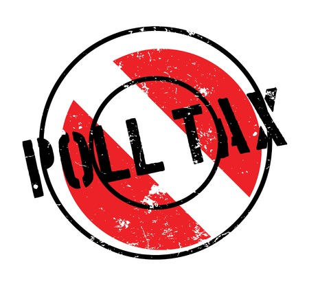 Poll Tax rubber stamp