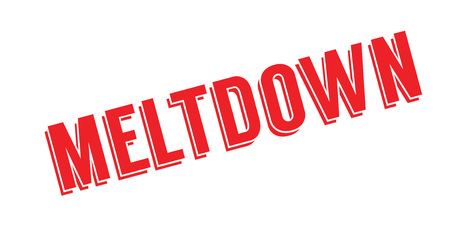 Meltdown rubber stamp
