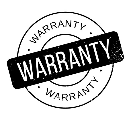 Warranty rubber stamp Stock Vector - 85056049