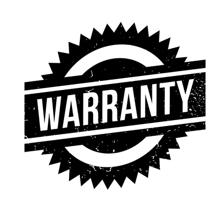 Warranty rubber stamp Stock Vector - 85103645