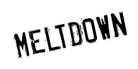 devastation: Meltdown rubber stamp