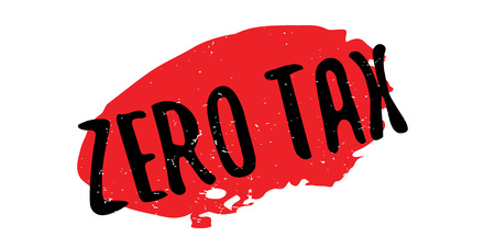 Zero Tax rubber stamp