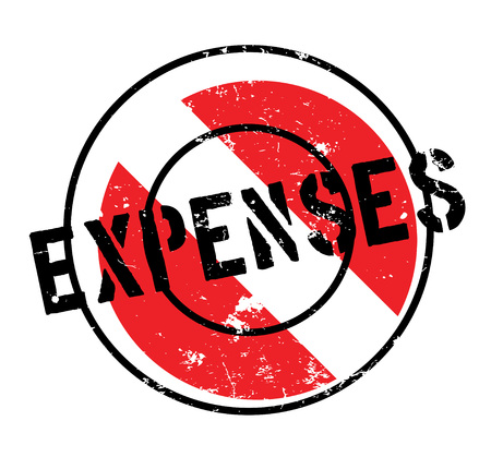 expenses: Expenses rubber stamp