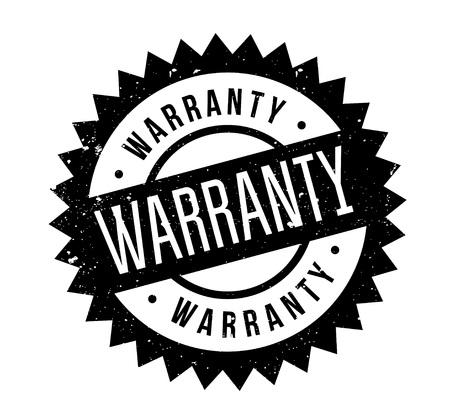 Warranty rubber stamp Stok Fotoğraf - 84971621