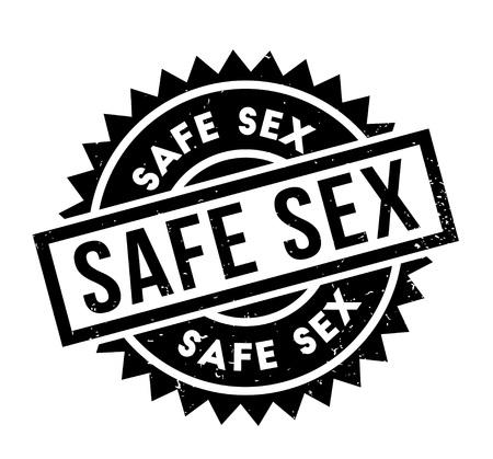 Timbro di gomma di sesso sicuro