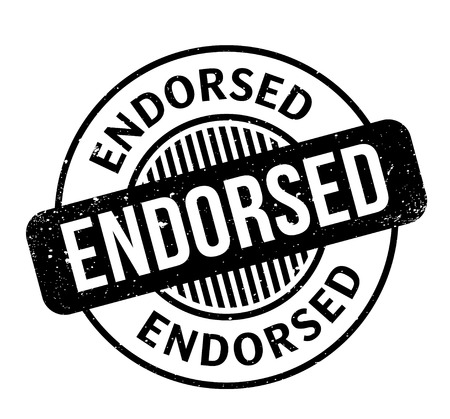 settled: Endorsed rubber stamp