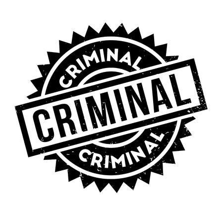 刑事のゴム印  イラスト・ベクター素材