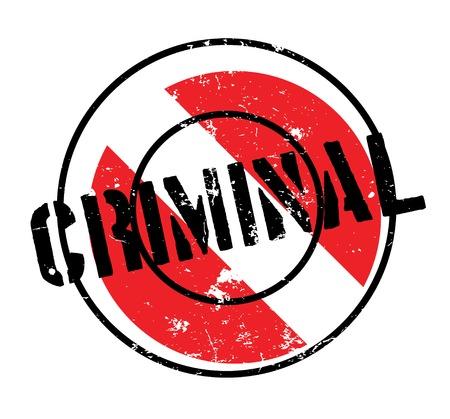 Criminal rubber stamp