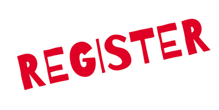 registro: Registro de sello de goma