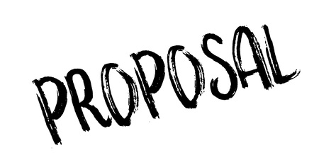 Proposal rubber stamp