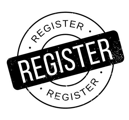 signing: Register rubber stamp