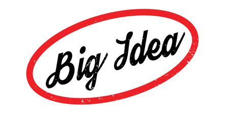 Big Idea rubber stamp