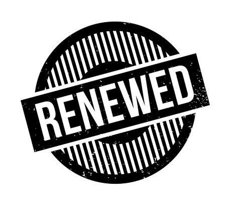 Renewed rubber stamp design