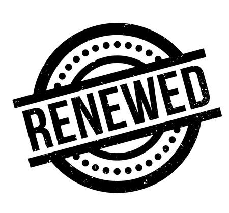 re do: Renewed rubber stamp Illustration