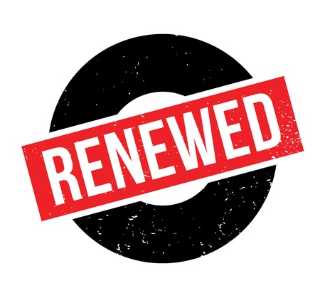 Renewed rubber stamp