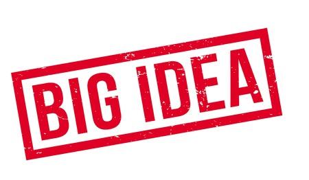 Big Idea rubber stamp