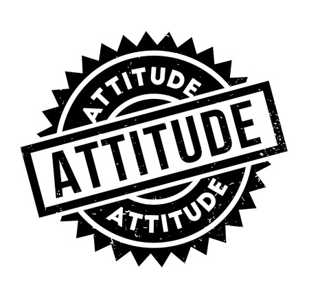 Attitude rubber stamp