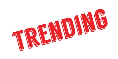 Trending rubber stamp