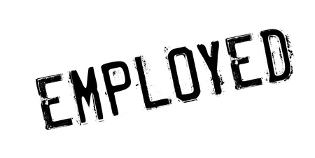 Employed rubber stamp