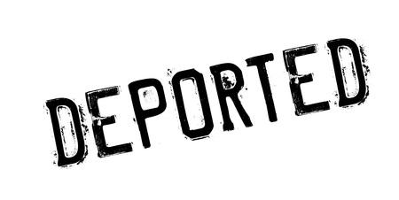 Deported rubber stamp Çizim