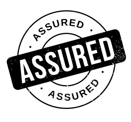 assured: Assured rubber stamp