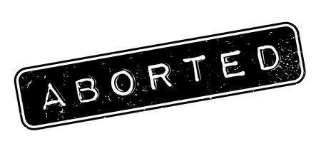 Geabsorbeerde rubberzegel Stock Illustratie
