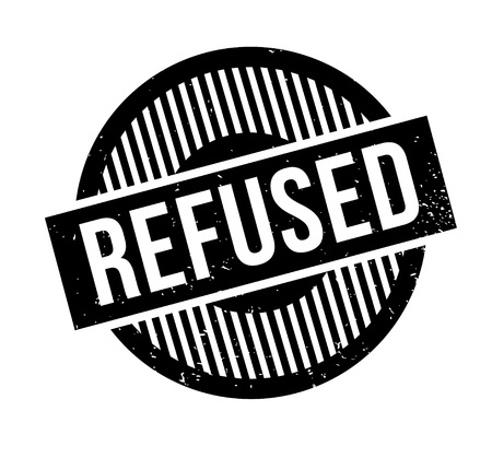 disallowed: Refused rubber stamp. Grunge design with dust scratches. Effects can be easily removed for a clean, crisp look. Color is easily changed.