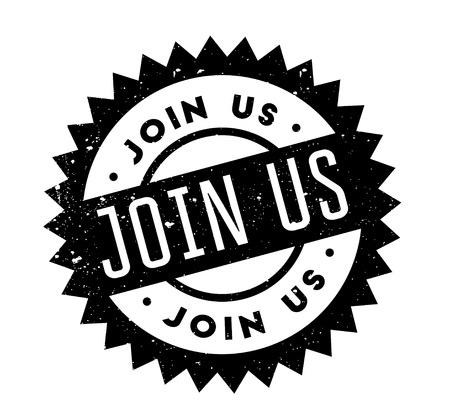Join Us rubber stamp