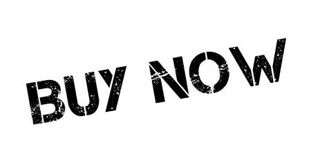 Buy Now rubber stamp Illusztráció