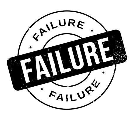 Failure rubber stamp Иллюстрация